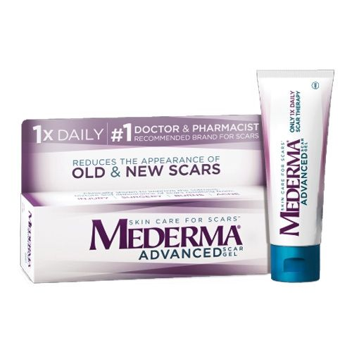 Merz 30928 31928 Mederma Advanced Scar Gel 71 Oz 20 Gm Spf 30 Cream Oz 20 Woundtx Com